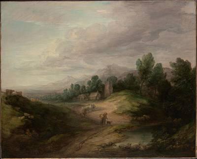 Wooded Upland Landscape Original