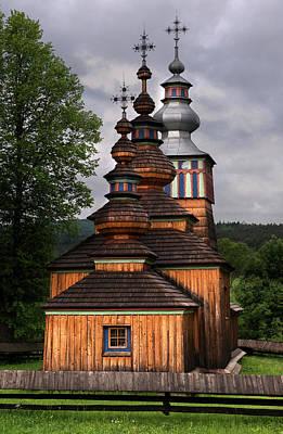 Photograph - Wooden Church In Swiatkowa Mala by Jaroslaw Blaminsky