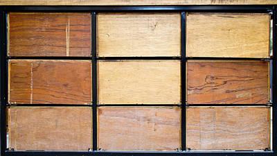 Wooden Crates Art Print