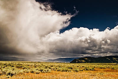 Wyoming Sky Art Print by Patrick  Flynn