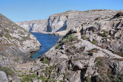 Maltese Photograph - Xlendi Bay - Gozo by Joana Kruse