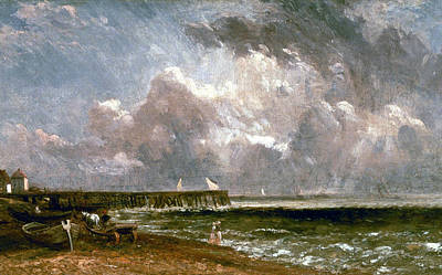 Painting - Yarmouth Pier by John Constable