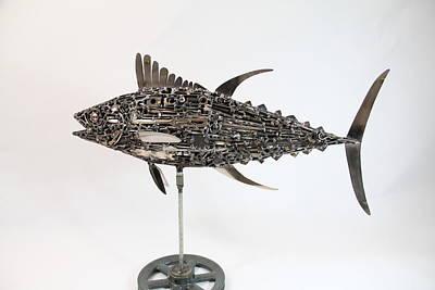 Yellowfin Tuna Art Print by Jacob Diehl
