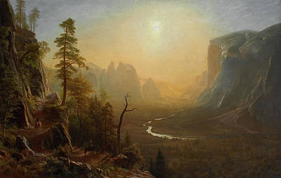 Yosemite Valley, Glacier Point Trail Art Print