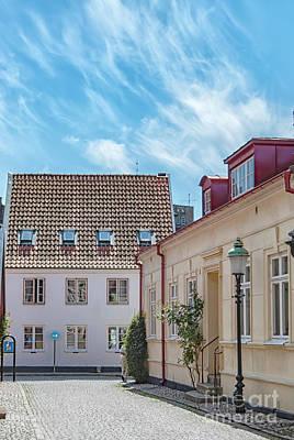 Photograph - Ystad Street Scene by Antony McAulay
