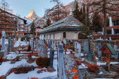 Zermatt - Switzerland Art Print by Joana Kruse