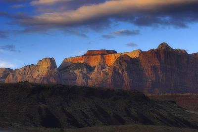 Zion National Park Utah Print by Utah Images