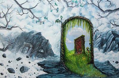 Painting - Passage by Mariusz Zawadzki