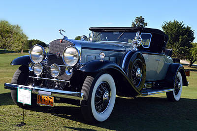 Photograph - 30 Caddy V16 Roadster by Bill Dutting
