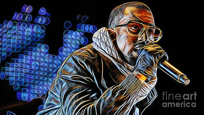 Hip Hop Mixed Media - Kanye West Collection by Marvin Blaine