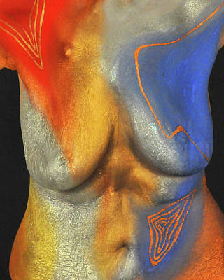 Photograph - 30. Kayla Alexander, Artist, 2018 by Best Strokes -  formerly Breast Strokes - Hadassah Greater Atlanta