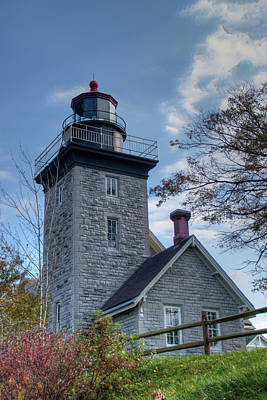 Photograph - 30 Mile Point Lighthouse 138997 by Guy Whiteley