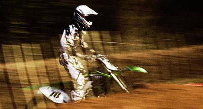 1-war Is Hell Royalty Free Images - Motocross Royalty-Free Image by Angel Ciesniarska