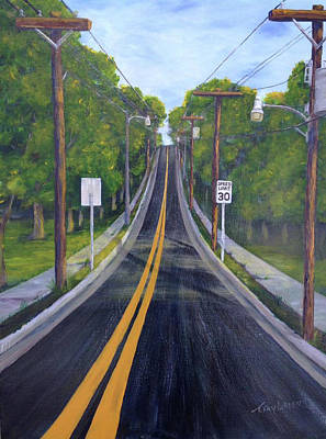 Painting - 30 Mph by T Fry-Green