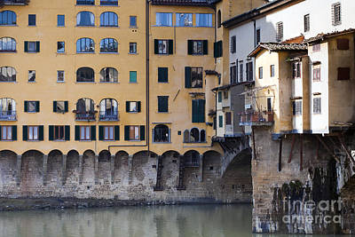 Ponte Vecchio Art Print by Andre Goncalves