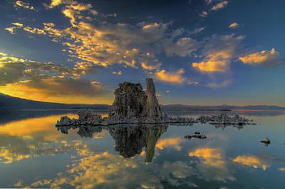 Sunset Digital Art - Reflection by Super Lovely