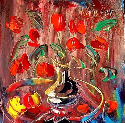 Impressionist Mixed Media - Tulips by Mark Kazav