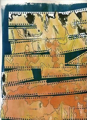 Van Dyke Brown Mixed Media - Untitled by John Edwe