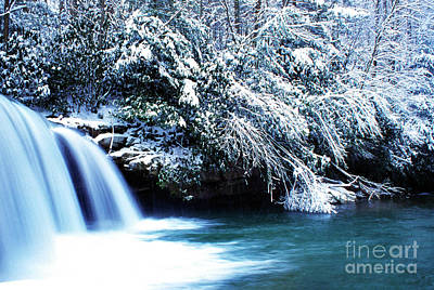 West Virginia Waterfall Art Print