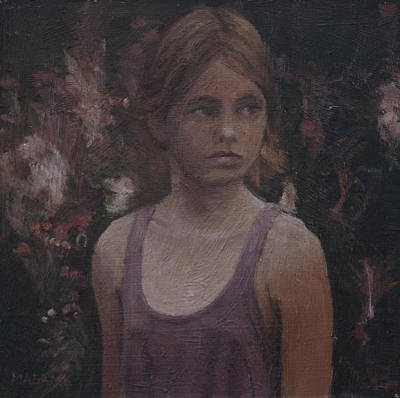 Painting - Young Girl by Masami Iida
