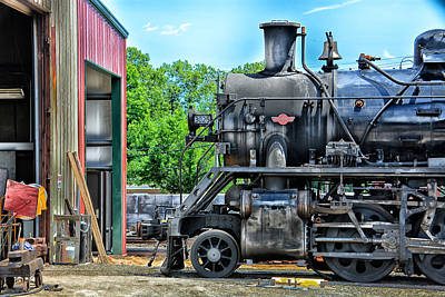 Photograph - 3025 In For Repairs by Mike Martin