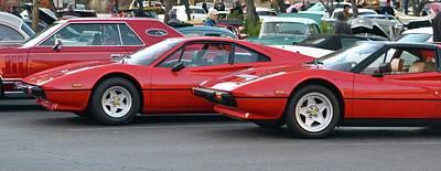 Photograph - 308 Ferrari by Dean Ferreira