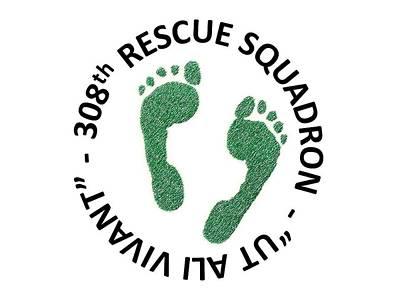Mixed Media - 308th Rescue Squadron by Zorro Lopez
