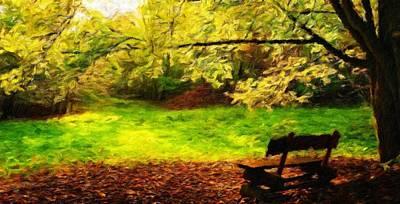 Landscape Painting - Landscape Nature by Margaret J Rocha