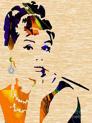 Audrey Hepburn Collection Art Print
