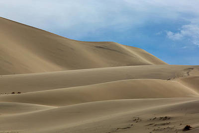 Bath Time Rights Managed Images - Death Valleys Eureka Dunes Royalty-Free Image by Michael Just