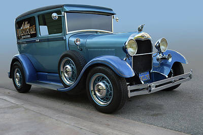 Photograph - 28 Ford Panel  by Bill Dutting