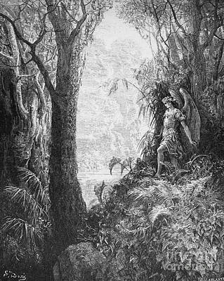 Milton: Paradise Lost Print by Granger