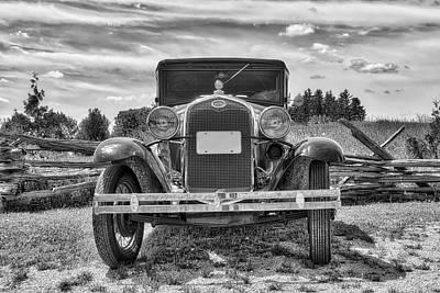 1931 Ford Victoria Photograph - '31 Model A Victoria by Irwin Seidman