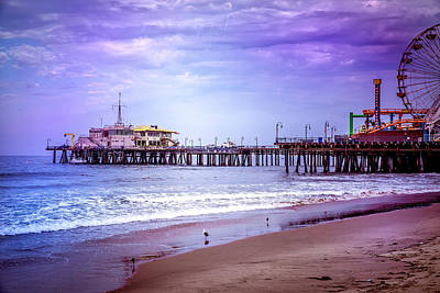 Photograph - Santa Monica Pier Collection- 27/36 by Gene Parks