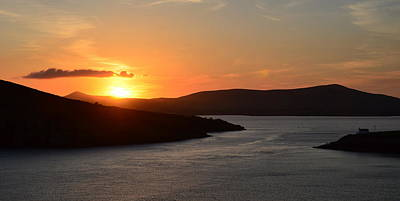 Photograph - Sunset Dingle by Barbara Walsh