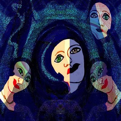 Digital Art - 310 - The Women Of Marseille  by Irmgard Schoendorf Welch