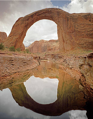 Photograph - 312811 Rainbow Bridge National Monument 2 by Ed Cooper Photography