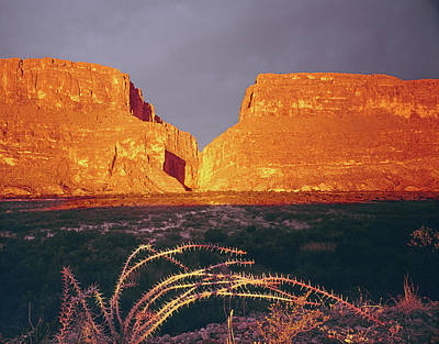 Photograph - 317828 Sunrise On Santa Elena Canyon  by Ed  Cooper Photography