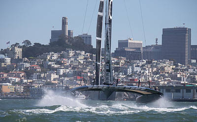 America's Cup Oracle Art Print by Steven Lapkin