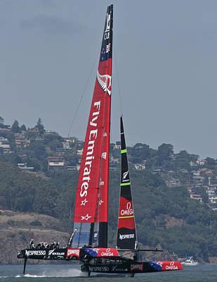 Photograph - America's Cup San Francisco by Steven Lapkin