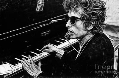Bob Dylan Collection Art Print