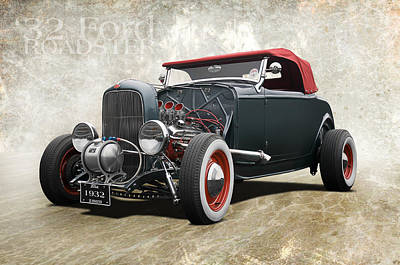 '32 Ford Roadster Art Print