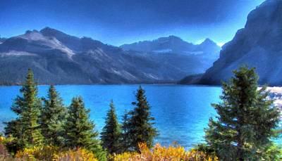 Autumn Digital Art - Landscape Of Art by Landscape Art