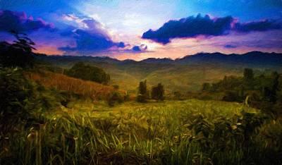 Landscape Painting - Nature Landscapes Prints by Margaret J Rocha