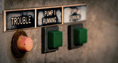 Photograph - Old Control Panel by Vintage Pix