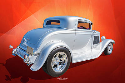 Photograph - 32 Three Window Coupe by Keith Hawley