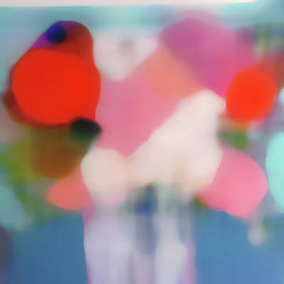 Mixed Media - Translucent Abstractions Series by Ricki Mountain