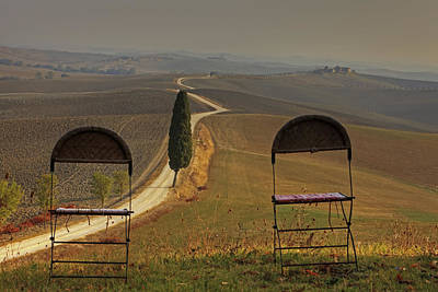 Avenue Photograph - Tuscany by Joana Kruse
