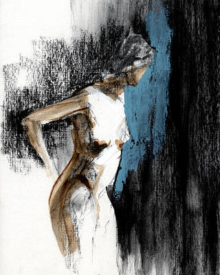 Female Mixed Media - Rcnpaintings.com by Chris N Rohrbach