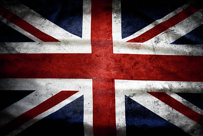 British Flag Art Print by Les Cunliffe